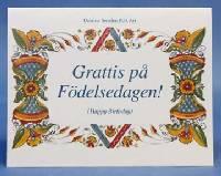 grattis pa fodelsedagen Anderson Butik: Cards   Grattis på Födelsedagen! grattis pa fodelsedagen